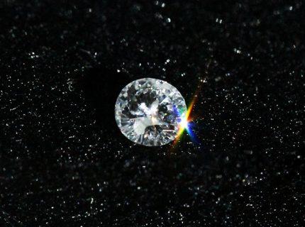 ダイアモンド0.21ctをK18ネックレスへ